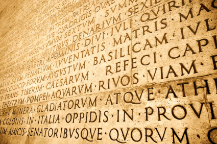 English Words In Latin