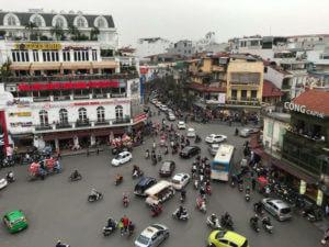 vietname street crossing