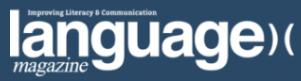 language learning magazine logo